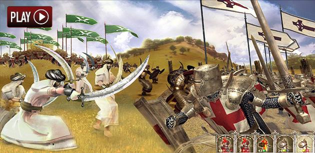 Las Cruzadas - Juegos - PC - Español - Estrategia