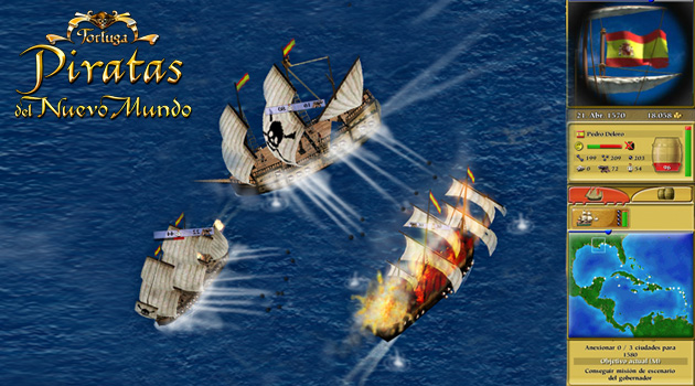 Piratas del Nuevo Mundo - Juegos - PC - Español - Estrategia