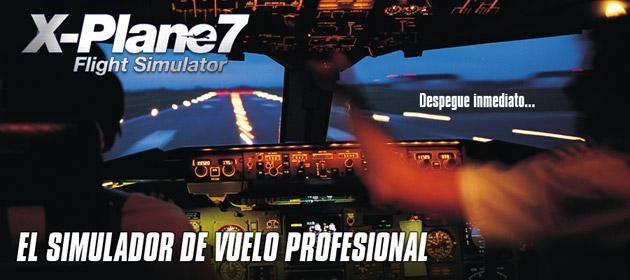 X Plane 7 - Juegos - PC - Español - Simulación