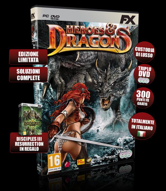 Heroes-Dragons - Giochi - PC - Italiano - Ruolo