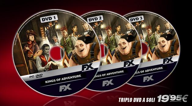 Kings of Adventure - Juegos - PC - Español - Aventura