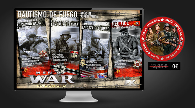 Men of War Oro - Juegos - PC - Español - Estrategia