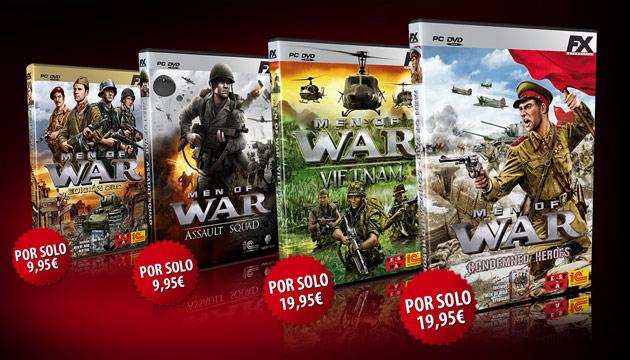 Men of War Condemned Heroes - Juegos - PC - Español - Estrategia