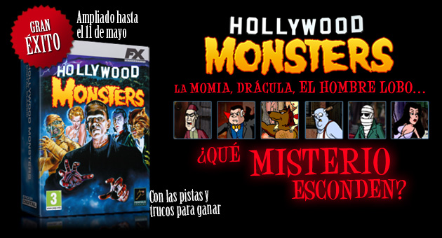 Hollywood Monsters - Descargar - Juegos - PC - Español - Aventuras