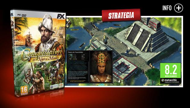 Conquistatori - Giochi - PC - Italiano - Strategia