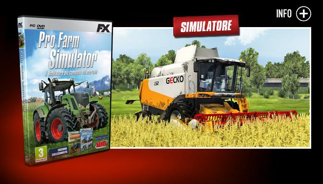 Pro farm Simulator - Giochi - PC - Italiano - Simulatore