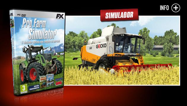 Profarm Simulator - Juegos - PC - Español - Simulación