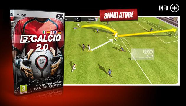 FX Calcio 2.0 - Giochi - PC - Italiano - Simulatore