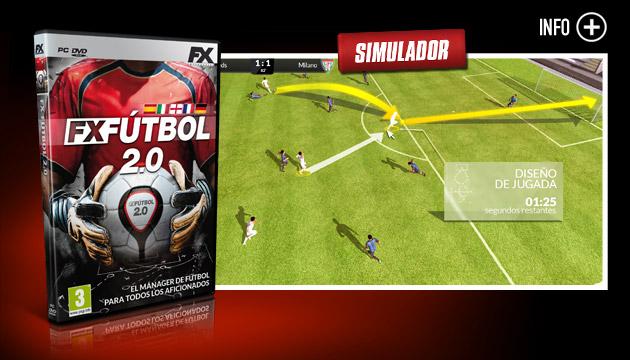 FX Fútbol 2.0 - Juegos - PC - Español - Simulación