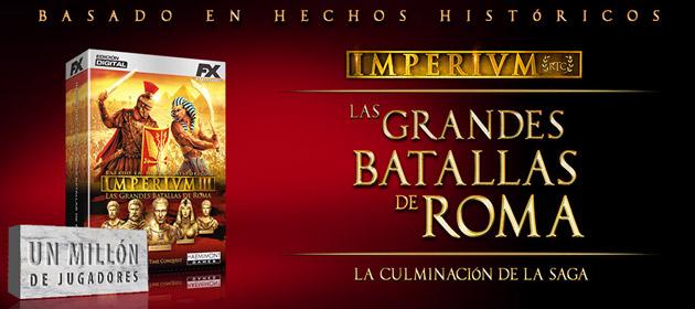 Imperivm Grandes Batallas de Roma - Juegos - PC - Español - Estrategia