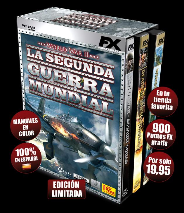 La Segunda Guerra Mundial - Juegos - PC - Español - Estrategia
