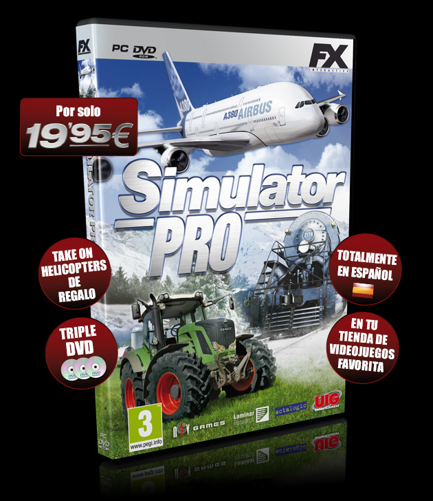 Simulator Pro - Juegos - PC - Español