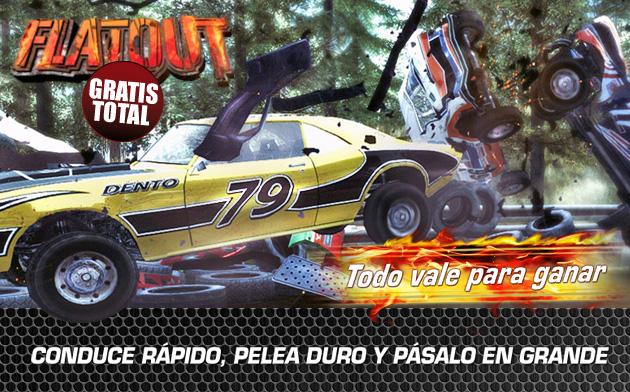 FlatOut - Juegos - PC - Español - Coches