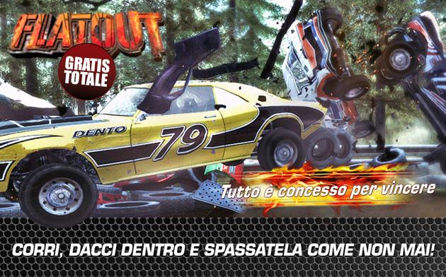 FlatOut - Giochi - PC - Italiano - Automobili