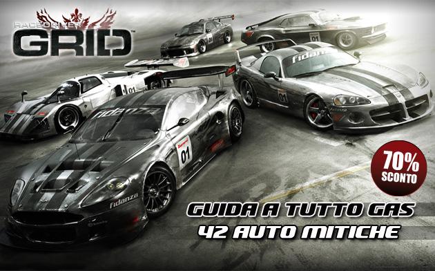 Race Driver Grid - Giochi - PC - Italiano - Automobili