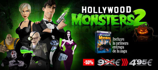 Hollywood Monsters 2 - Juegos - PC - Español - Aventura