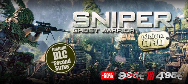 Sniper Ghost Warrior - Giochi - PC - Italiano - Azione