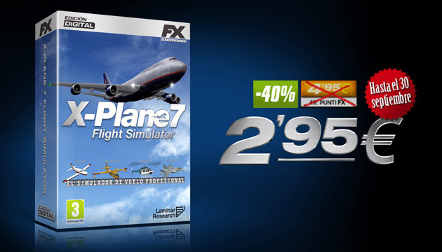 X-Plane 7 - Juegos - PC - Español - Simulador de vuelo